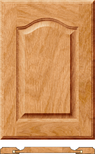 Cathedral raised panel doors